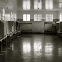 Prison on Robben Island in Cape Town, South Africa