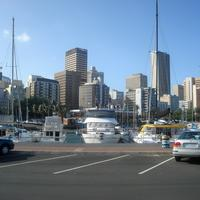 Durban Harbor with Boats in South Africa