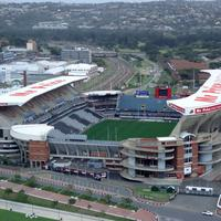Rugby Stadium in Durban South Africa