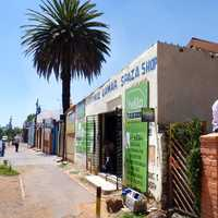 103rd Street view in Johannesburg, South Africa