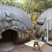 African Cultural Village in Johannesburg, South Africa