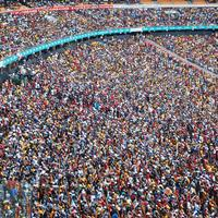 Crowd at a Stadium in Johannesburg, South Africa for Rugby