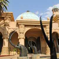 Palace of Lost City architecture in Johannesburg, South Africa