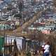 Soweto housing in Johannesburg, South Africa