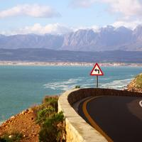 Coastal Road Landscape in South Africa