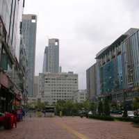 City buildings in Incheon, South Korea