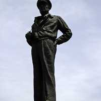 The statue of MacArthur at Jayu Park in Incheon, South Korea