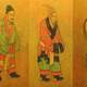 7th century Tang dynasty Drawing of Envoys from South Korea