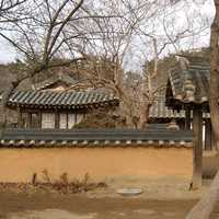 Birth house of Heo Nanseolheon, Korean Poet in Gangneung, South Korea