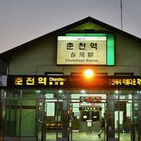 Chuncheon Station in South Korea