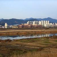 City of Miryang in South Korea