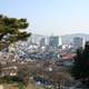Panorama view of Mokpo from Yudalsan in South Korea