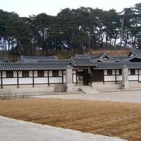 Seongyojang, a country house in Gangneung, South Korea