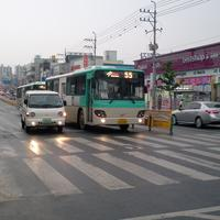 Traffic and Cars in YeongCheon, South Korea