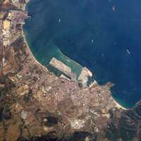 Algeciras satellite image, Spain