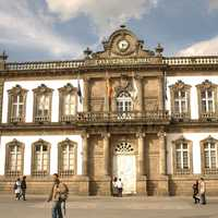 City Hall, 19th century in Pontevedra, Spain