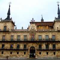The Former City Hall of Leon, Spain