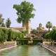 Gardens of the Alcázar de los Reyes Cristianos in Cordoba, Spain