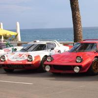 Lancia Stratos in the Rally Costa Brava of Lloret de Mar in Spain