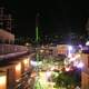 Lloret de Mar at night with lights in Spain