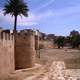 Moorish walls in Alzira, Spain