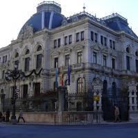Parliament building of the Principality of Asturies in Oviedo, Spain