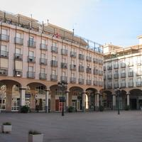Plaza Mayor building in Elda, Spain