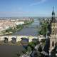 Puente de Piedra City View in Zaragoza, Spain
