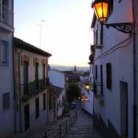 Realejo neighborhood in Granada, Spain