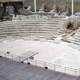 Roman theatre in Zaragoza in Spain
