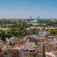 Skyline view of Seville from Giralda