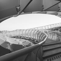 Stairs up the Metropol, Parasol in Seville, Spain