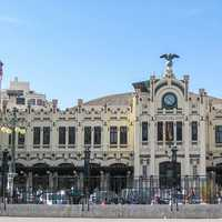 The North Station in Valencia, Spain