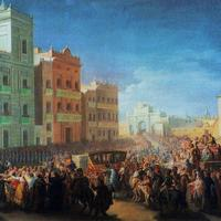 Welcoming Ferdinand at Valencia, Spain, 1814