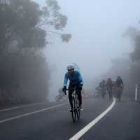 Cycling out of the mist