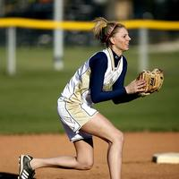 Female Softball player