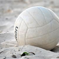 Volleyball in the Sand