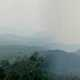 Dambadeniya Mountain top with misty landscape