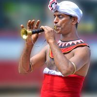 Local Trumpet player in Sri Lanka