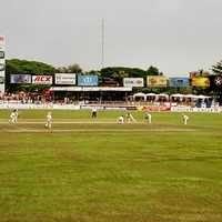 Match between England and Sri Lanka in Colombo
