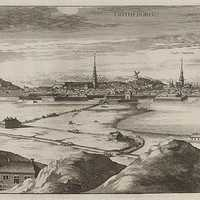 Looking at Gothenburg in 1700