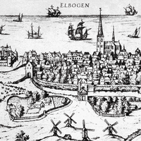 City of Malmo in 1580