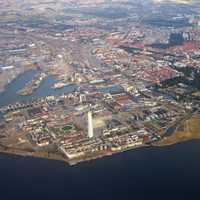 The Aerial View of Central Malmo