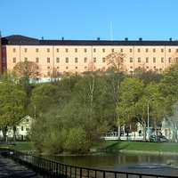 Uppsala Castle in Sweden