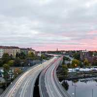 Highway in Fredhall, Stockholm