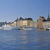 Stockholm Across the water