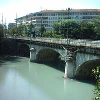 Bridge in Carouge, Switzerland