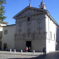 Church of San Rocco in Lugano, Switzerland