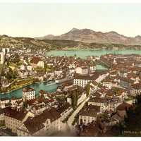 Lucerne, town in Switzerland