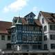 Old houses of St. Gallen in Switzerland